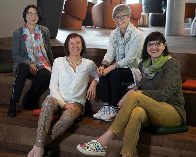 Die Vorstandsmitglieder FrauenHilfe Freudenstadt e.V.